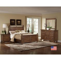 Ashfield 4 Piece Queen Storage Bedroom Set Birth Center Pinterest Bedroom Sets The O 39 Jays