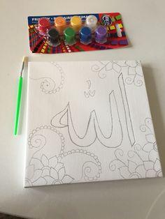 Islam for kids Muslim kids canvas https://www.etsy.com/listing/228946846/muslim-kids-canvas-islamic-canvas-for