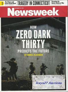 Newsweek Magazine How Zero Dark Trinity Predicts The Future December 24 2012
