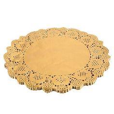 Amazon.com Quasimoon 8.5  Round Gold Foil Doilies (50 Pack) by  sc 1 st  Pinterest & Premium Clear Plastic Plates By Alpha u0026 Sigma - 50pcs 9