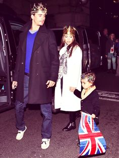 Kourtney Kardashian, Scott Disick and her son Mason Dash Disick