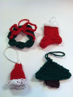 KnitOasis Classes & Events: Knitted Christmas Ornaments--Dec.6