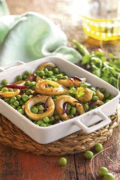 30 cenas listas en pocos minutos (¡y no son de lata!) Low Carb Recipes, Diet Recipes, Healthy Recipes, Healthy Food, Health Options, Tasty, Yummy Food, Calamari, Pasta Salad