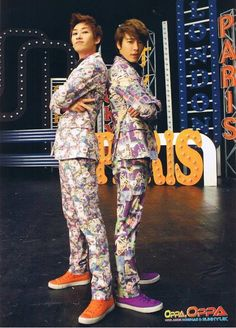 Super Junior Eunhyuk and Donghae Come visit kpopcity.net for the largest discount fashion store in the world!!