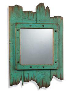 Home > rustic decor & garden art > Barn Door Mirror    Barn Door Mirror