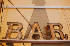 Bar sign -by Sami Tipi captured by Ed Brown Photography