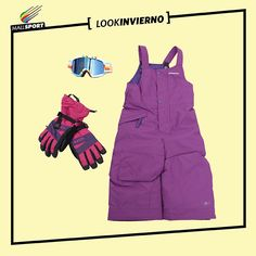 Antiparras niña, Billabong - Guantes niña, 7Veinte - Jardinera de nieve niña, Patagonia.