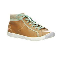 Softinos Sneaker High Top - Isabel Braun, Grün im Salamander Onlineshop