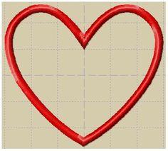 MINI HEART APPLIQUE-