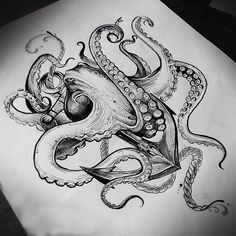 Every hour I publish the most interest… – Octopus Tattoo Octopus Tattoo Sleeve, Kraken Tattoo, Squid Tattoo, Octopus Tattoo Design, Octopus Tattoos, Leg Tattoos, Body Art Tattoos, Sleeve Tattoos, Tattoos For Women Small
