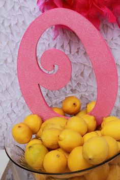 Pink Lemonade 1st Birthday Party!