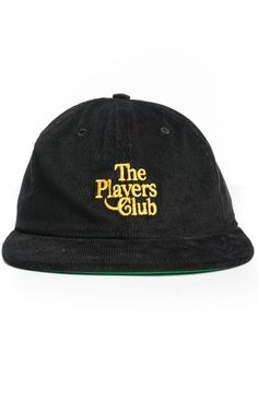 Acapulco Gold, Players Club Strap-Back Hat - Other - MOOSE Limited