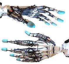 3ders.org - This amazing biomimetic anthropomorphic robotic hand contains 3D printed bones | 3D Printer News & 3D Printing News