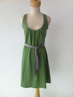 The Jersey Belted dress for the 6wk sewing course...
