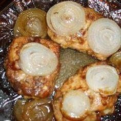 pork chops (tender, oven-baked)