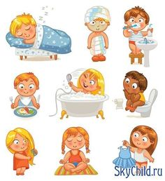 Health and hygiene isolated on white background. Vector image Health and hygiene isolated on white background Vector Image - Unique Baby Bathing Kinder Routine-chart, Kids Routine Chart, Health Images, Baby Learning, Personal Hygiene, Kids Education, Healthy Kids, Healthy Habits, Kids And Parenting