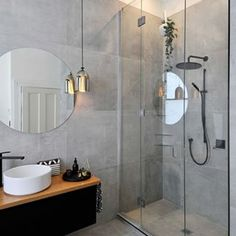Concrete & free standing tubs