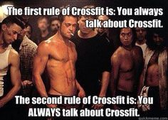 ALWAYS Talk about #CrossFit