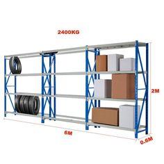 6MX2M Metal Garage Warehouse Rack Storage Shelving Workbench Tyre Stand T20BG   eBay