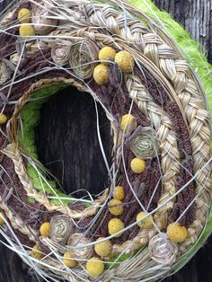 Spring Wreath Easter Wreath Home Decor by CadeauDeLaNature