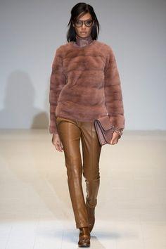 Меховой свитшот Gucci