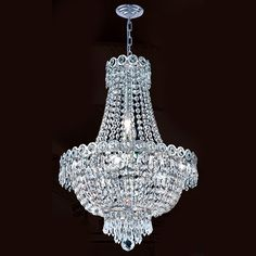 Buy the Worldwide Lighting Chrome Direct. Shop for the Worldwide Lighting Chrome Empire 8 Light 1 Tier Chrome Chandelier with Clear Crystals and save. Flush Mount Chandelier, Chandelier Lighting, Chandelier Ideas, Crystal Light Fixture, Light Fixtures, Elegant Chandeliers, Crystal Chandeliers, Online Lighting Stores, Cool Floor Lamps