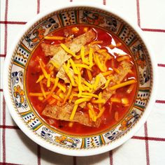 slow cooker enchilada soup