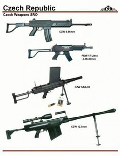 Czech Weapons SRO Military Weapons, Weapons Guns, Guns And Ammo, Future Weapons, Lethal Weapon, Concept Weapons, Hunting Rifles, Cool Guns, Assault Rifle