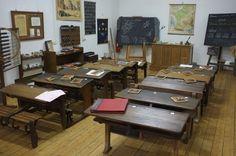 école d'autrefois, les années 50