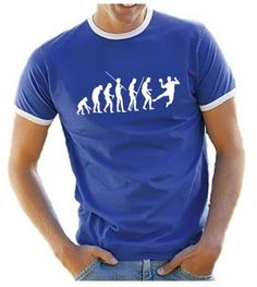 Coole-Fun-T-shirts Handball Evolution - T-shirt - Homme  Amazon.fr   Vêtements et accessoires 2c88f2654467