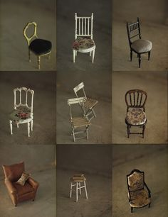 Miniature chair us: natural color of life ~ handmade furniture