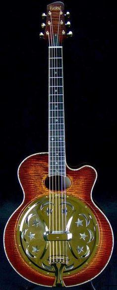 Beard Guitars, Model A Custom --- https://www.pinterest.com/lardyfatboy/