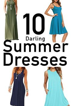 Casual summer dresses are perfect for women to stay stylish and cool during the summer heat. Long maxi dresses and flowing knee length in comfy fabrics. Summer Gowns, Short Summer Dresses, Summer Dresses For Women, Yellow Dress Summer, Summer Dress Patterns, Outfit Trends, Diy Dress, Shopping, Princess Dresses