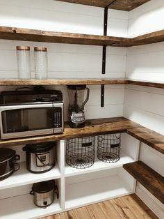 Bauernhaus Pantry Renovierung Farmhouse Pantry renovation - Own Kitchen Pantry Küchen Design, Layout Design, House Design, Design Ideas, Design Inspiration, Bar Designs, Design Styles, Design Concepts, Modern Design