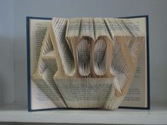 Your name here: Custom book art for the Bride & Groom