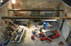 Garage diorama Revell_Cars_1.jpg 800×521 pixels