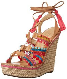 Schutz Women's Mella Espadrille Wedge Sandal >>> Learn more by visiting the image link.