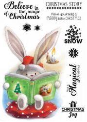 *NEW Crafters Companion Bebunni - Christmas Story