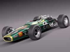 Lotus 49 Colin Chapman's design genius combined with Cosworth Engineering's Ford V8 engine and one of the greatest F1 race cars was born. The Lotus 49 chassis when fitted with the delayed Ford Cosworth DFV 3 Litre V8 took the F1 world by storm, winning its first GP in South Africa in 1968 with the late Jim Clark at the wheel.