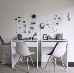 Create a great work space for your kids with our Jordi Desk! This fun area was designed by @thedesignchaser!