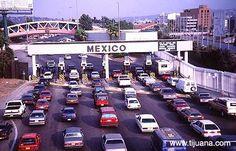 Border Crossing from San Diego, CA to Tijuana, Mexico