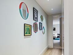 Chelsea Pied-A-Terre London | Luxury Interior Design | Shalini Misra. Inspiration for mixing interesting marquetry mirrors. Ideas for TheLuxPod apartments, Latvia