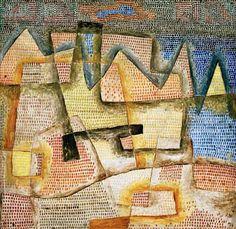 Titre de l'image : Paul Klee - Felsige Kueste, 1931, 227.