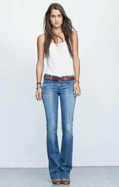 My favorite jeans...Kelly Bootcut by Citizens of Humanity.
