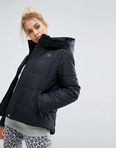 Converse Padded Jacket In Black