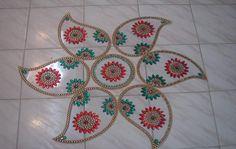 Image detail for -set Kundan Rangoli india  shagunartsandcrafts.com