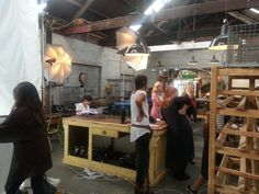 Making sure it is perfect! Behind the Scenes, Spring/Summer 14 with Ziera Shoes