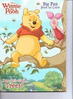 Winnie the Pooh Big Fun Book to Color ~ Bees Can't Climb Trees by Disney Enterprises http://www.amazon.com/dp/B00EDRQLWM/ref=cm_sw_r_pi_dp_g9iNwb0384RWZ