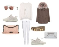 """""""Untitled #645"""" by salma12222 ❤ liked on Polyvore featuring Étoile Isabel Marant, J Brand, Chanel, adidas Originals, Army Fur by Yves Salomon, Balenciaga and Christian Dior"""
