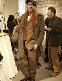 Tweed is no longer a conservative fabric – it is getting bolder, brighter and better, says David Evans
